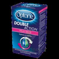 Optone Double Action Solution Oculaire Yeux Secs Fl/10ml à Espaly-Saint-Marcel