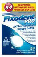 Fixodent Pro Comprimés Nettoyant Fraîcheur Longue Durée Pour Prothèse Dentaire B/54 à Espaly-Saint-Marcel