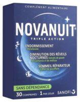 Novanuit Triple Action Comprimés B/30 à Espaly-Saint-Marcel