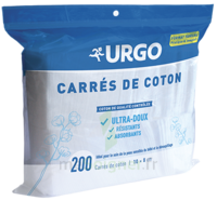 Urgo Carrés De Coton 8x10cm Non Stérile B/200 à Espaly-Saint-Marcel