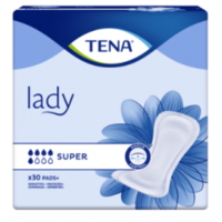 Tena Lady Protection Anatomique Adhésive Super Sachet/30 à Espaly-Saint-Marcel