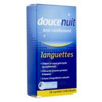 DOUCENUIT ANTIRONFLEMENT LANGUETTES, sachet 28 à Espaly-Saint-Marcel