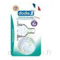 Dodie Sensation+ Tétine Plate Débit 2 Silicone 0-6mois à Espaly-Saint-Marcel