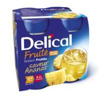 Delical Boisson Fruitee Nutriment Ananas 4bouteilles/200ml à Espaly-Saint-Marcel