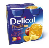 DELICAL BOISSON FRUITEE Nutriment multi fruits 4Bouteilles/200ml à Espaly-Saint-Marcel