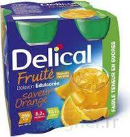 DELICAL BOISSON FRUITEE Nutriment édulcoré orange 4Bouteilles/200ml à Espaly-Saint-Marcel