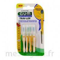 GUM TRAV - LER, 1,3 mm, manche jaune , blister 4 à Espaly-Saint-Marcel