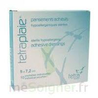 Tetraplaie Film Pansement adhésif stérile film PU 5x7,2cm B/5 à Espaly-Saint-Marcel