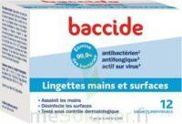 Baccide Lingette désinfectante mains & surface 12 Pochettes à Espaly-Saint-Marcel