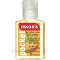 Assanis Pocket Parfumés Gel antibactérien mains Mangue 20ml à Espaly-Saint-Marcel