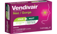 Vendivair Nez/Gorge Comprimés jour et nuit B/12+4 à Espaly-Saint-Marcel
