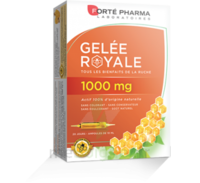 Forte Pharma Gelée royale 1000 mg Solution buvable 20 Ampoules/10ml à Espaly-Saint-Marcel