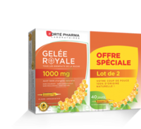 Forte Pharma Gelée royale 1000 mg Solution buvable 2*B/20 Ampoules/10ml à Espaly-Saint-Marcel