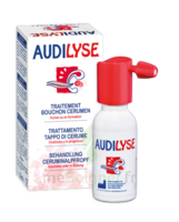 Audilyse Solution auriculaire ramollissement et dissolution du cérumen 20ml à Espaly-Saint-Marcel