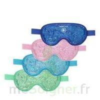 Kinecare Masque thermique oculaire bleu 21x10cm à Espaly-Saint-Marcel