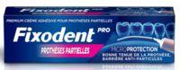 Fixodent Pro Crème Adhésive Pour Prothèse Partielle T/40g à Espaly-Saint-Marcel