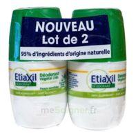 Etiaxil Végétal Déodorant 24h 2roll-on/50ml à Espaly-Saint-Marcel