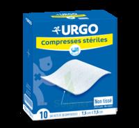 Urgo Compresse Stérile Non Tissée 10x10cm 10 Sachets/2 à Espaly-Saint-Marcel