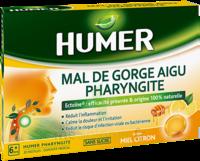 Humer Pharyngite Pastille Mal De Gorge Miel Citron B/20 à Espaly-Saint-Marcel